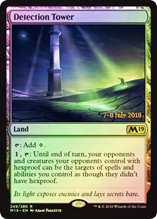 Magic: The Gathering - Detection Tower - Foil - Prerelease Promos