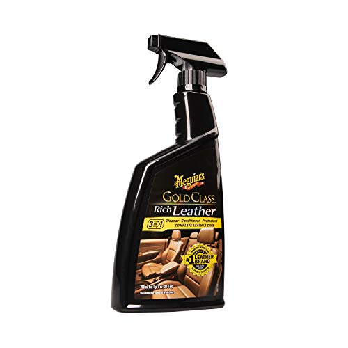 MEGUIAR'S G10924SP Gold Class Rich Leather Cleaner & Conditioner