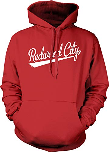 NOFO Clothing Co Redwood City Hooded Sweatshirt, S Red