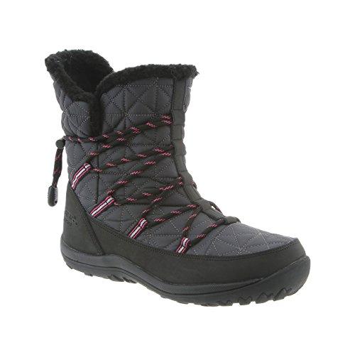 BEARPAW Womens Celine Rain Boot Charcoal Size 9