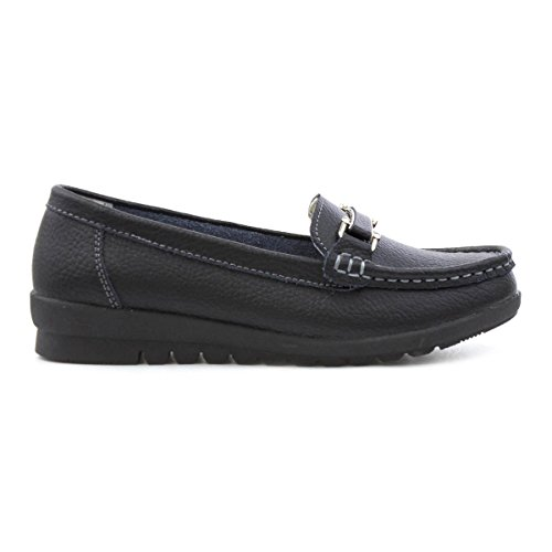 Leather Shoe Soft Lites Leather Womens Soft Black Loafer Black Womens Shoe Black Lites Loafer 1Cw6B6qSx