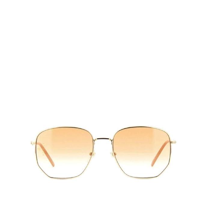 Amazon.com: Gucci GG 0396S 003 - Gafas de sol cuadradas ...