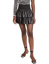 Women's Faux Leather Maryjo Skirt