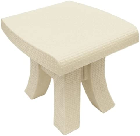 Terrasol Monterey Side Table, Cream