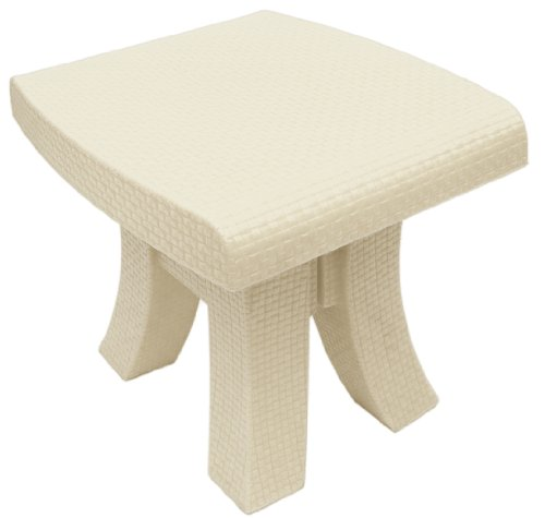 TerraSol Monterey Side Table, Cream