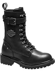 Harley-Davidson Womens Calvert 8-Inch Motorcycle Boots D87153