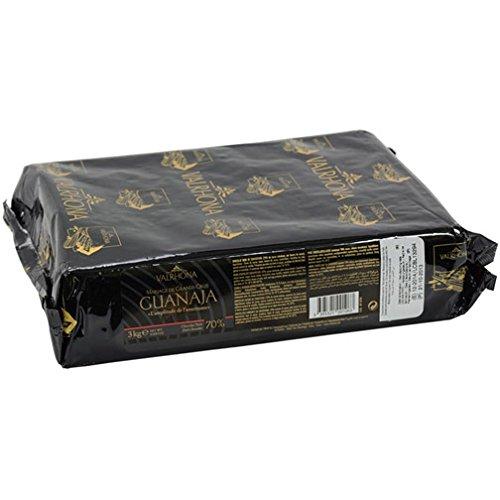 Valrhona Chocolate Guanaja 70% cacao 3 kilo / 6.6 lbs by Valrhona