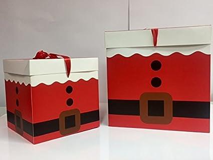 dalbags – Lote de unidades 2 cajas regalo Navidad completo de cordones 2 formatos diferentes color