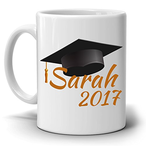 Personalized!! Graduation Cap Gifts Mug, Unique Grad Gifts for Men and Women Graduate Coffee Cup, Printed on Both - Nordstroms Junior