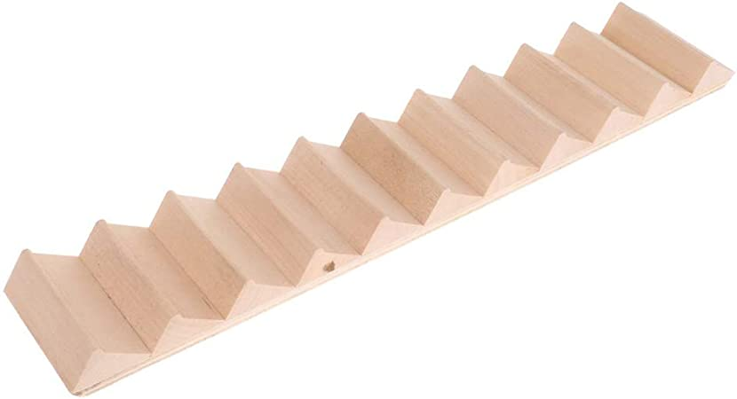ypypiaol 1/12 Escalera De Madera Escalera Stringer Step Model DIY Miniatura Casa De Muñecas Decoración Regalo 1#: Amazon.es: Hogar