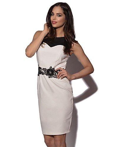 Abiti da donna eleganti estivi Vestito Da donna Linea A Sexy   Moda città Monocolore  Sopra 9830990f45a