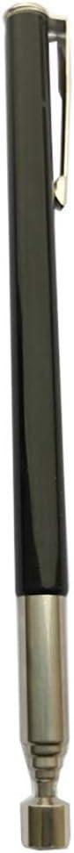 Noir Argent/é. Asdomo Outil de ramassage t/élescopique magn/étique avec aimant puissant de 0,5 /à 0,9 kg