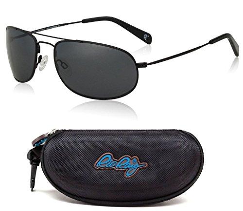 Rio Ray Polarized Sunglasses RX Prescription Ready Indestructible Memory Titanium – - Cr-39 Sunglasses