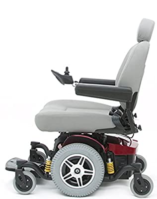 Pride Mobility - Jazzy 614 HD - Heavy Duty Power Chair - Candy Apple Red