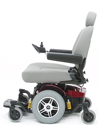 - Pride Mobility - Jazzy 614 HD - Heavy Duty Power Chair - Candy Apple Red