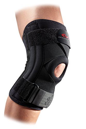 Mcdavid Knee Brace Support & Compression Knee Sleeve w/ Side Stays & Cross Straps for Knee Stability, Patellar Tendon Support, Tendonitis Pain Relief, Recovery & Prevention from Moderate Injuries, for Men & Women
