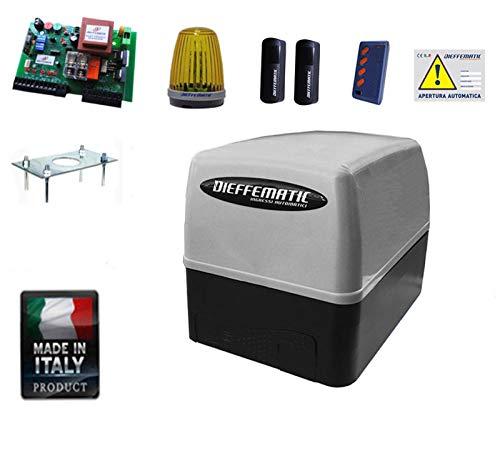 Dieffematic - Kit de Motor de automatización para Puerta corredera, 400 kg, 230 V, eléctrico automático: Amazon.es: Industria, empresas y ciencia
