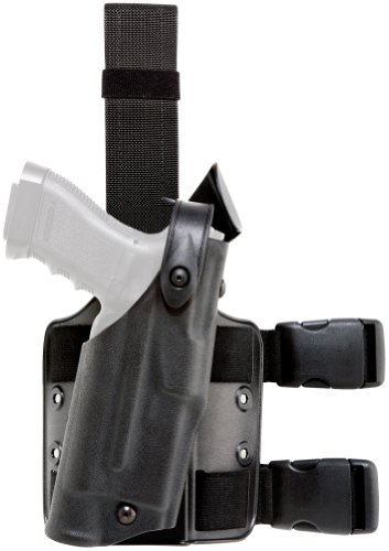 Safariland 6304 ALS Tactical Leg Holster, Black, STX, Glock 20, 21 by Safariland