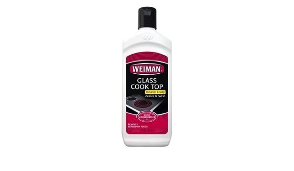 Weiman cristal vitrocerámica limpiador y abrillantador Heavy ...