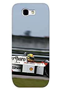 huyny diy Galaxy Note 2 Case Slim [ultra Fit] 1988 Mclaren Honda Mp44 Formularace Racing Protective Case Cover