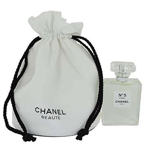 Chänel Nô. 5 L'eäu Perfůme For Women 3.4 oz Eau De Toilette Spray in free Chanel tote bag (Chanel No 5 Eau De Toilette)