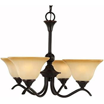 Design House 514455 Millbridge 5 Light Chandelier, Oil Rubbed ...