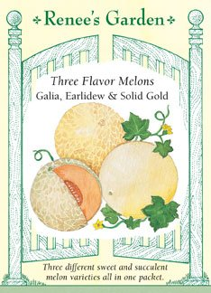 Melons - Three Flavor Blend Seeds
