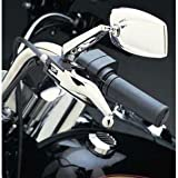 BK RIDER BKrider Custom Ergonomic Chrome Lever Blades for Harley-Davidson 2007+ Big Twins(except 04-11 XL & 08-11 Touring Models w/ hydraulic clutches) CC647994