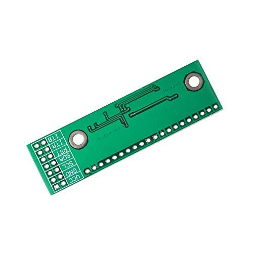 (UTP 10PCS/LOT MCP23017 I2C Interface 16bit I/O Extension Module Pin Board IIC to GIPO Converter 25mA1 Drive Power Supply for Arduino)