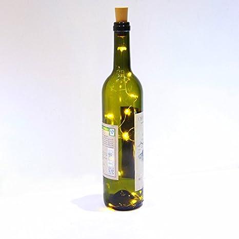 3 PCS 75cm Corcho Micro Luces LED para Botella de Vino,GZQES,Luz de
