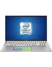 """Asus Vivobook S532FL-BQ005T, Notebook con Monitor 15,6"""", Anti-Glare, Intel Core i7 8565U, RAM 8GB, 512GB SSD PCIE, Windows 10, Scheda Grafica Nvidia da 2 GB GDDR5"""