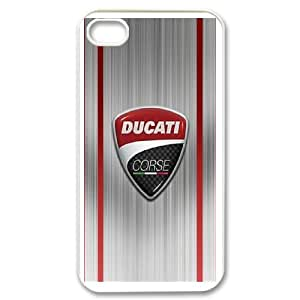 Ducati Phone Case And One Free Tempered-Glass Screen Protector For iPhone 4,4S B57943