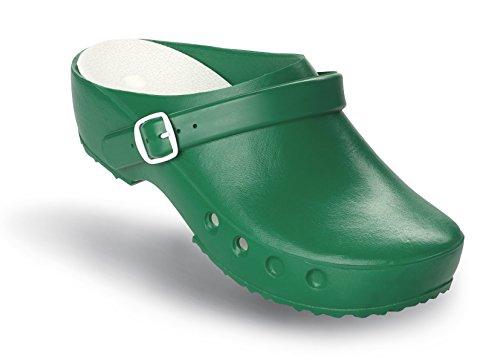 Schuhe OP ohne Chiroclogs mit Fersenriemen Classic Fersenriemen Schürr und mit Grun wHqSgw