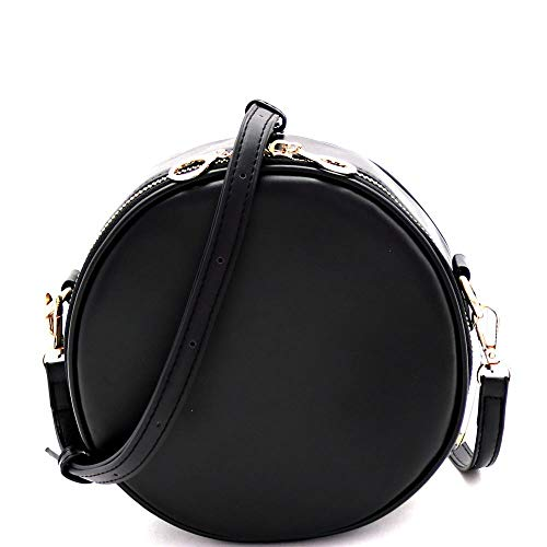 (Circle Round Neon Cross Body Shoulder Bag)