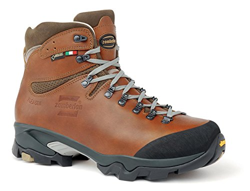 Zamberlan - 1996 VIOZ lux GTX rr - Leather Backcountry Boots - Waxed Brick - 12 ()