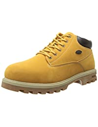 Lugz Men's Empire WR Eee Thermabuck Boot, Golden Wheat/Cream/Bark/Gum, 8.5 D US