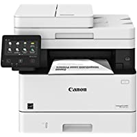 Canon MF424dw Wireless Monochrome Laser All-in-One Printer with Duplex (White)