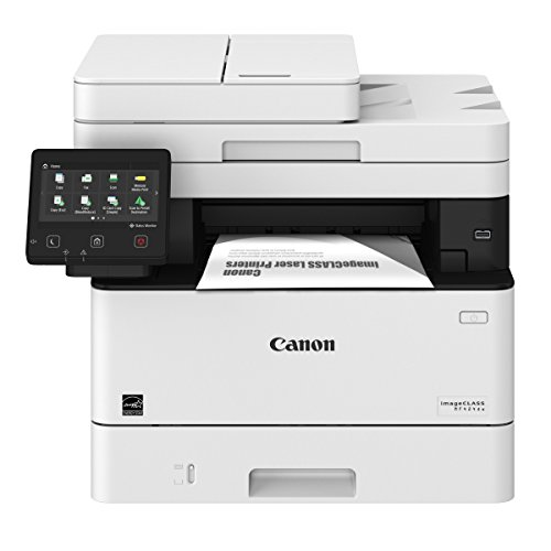 Canon imageCLASS MF424dw Wireless Black-and-White All-In-One Printer White 2222C003