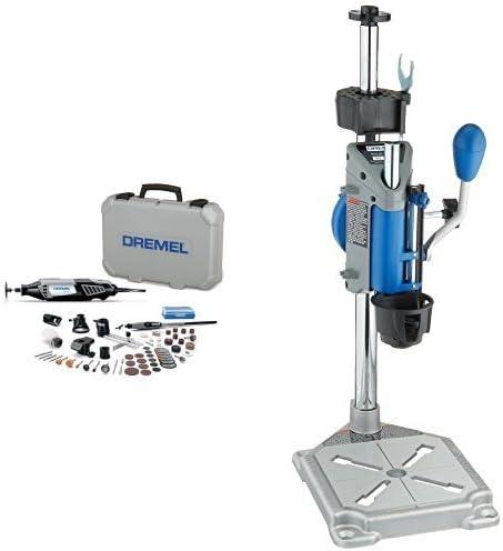 Dremel High Performance Rotary Tool Kit Workstation Drill Press Work Station
