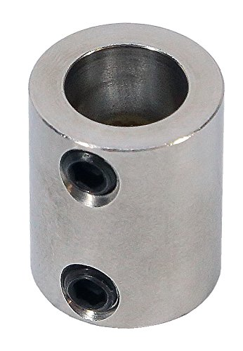 3/16 inch to 3/8 inch Stainless Steel Set Screw Shaft Coupler