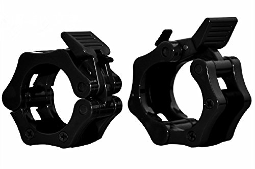 VMFTS 1 inch Barbell Collar Dumbbell Collars Quick Released Barbell locking Collar Clamps s For Weightlifting Pro Crossfit Training