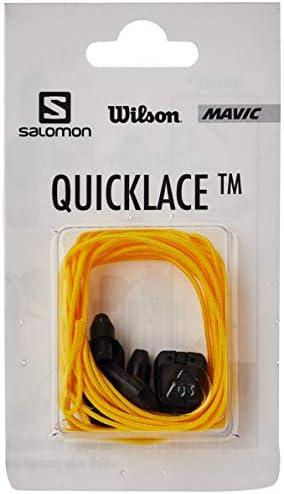 シューズ用品 靴紐 Quicklace KIT (クイックレース キッド) Yellow 27.0cm