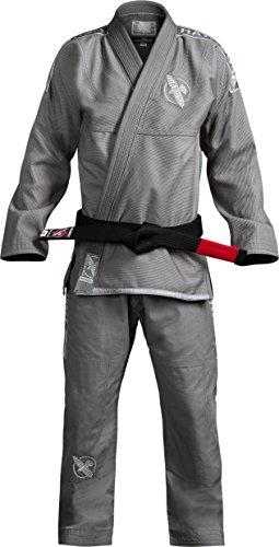 Hayabusa Lightweight Jiu Jitsu Gi (Grey, A2)