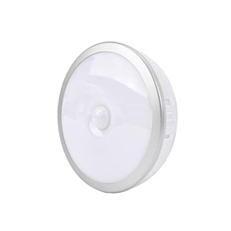 Tipo Libro de Sensor de movimiento Luz nocturna, Luces de Armario USB lámpara de pared