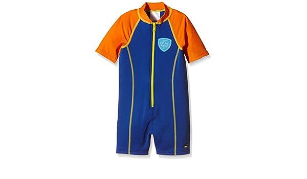 Speedo Seasquad Hot Tot - Traje de baño infantil azul New ...