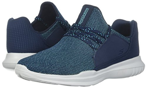 Fitness Pour Turquoise 14813 Chaussures De Femme Marine bleu Bleu Skechers Tw6AAq
