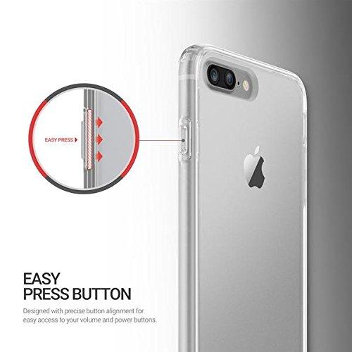 Obliq Etui pour iPhone 7 Plus Transparent