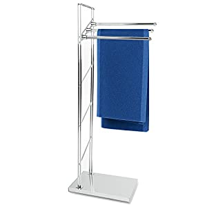 Amazon.com: casa pura® 3 Rail Towel Stand Rack - Elegant