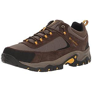 Columbia Men's Granite Ridge Hiking Shoe, Mud, Golden Yellow, 9 D US