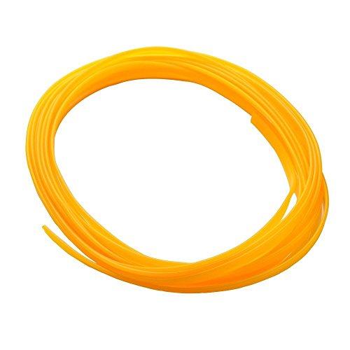 Lumision 16.4 FT (5 Meters) Flexible 3D DIY Automobile Car motor Interior Exterior Decoration Moulding Trim Strip Line (Yellow)